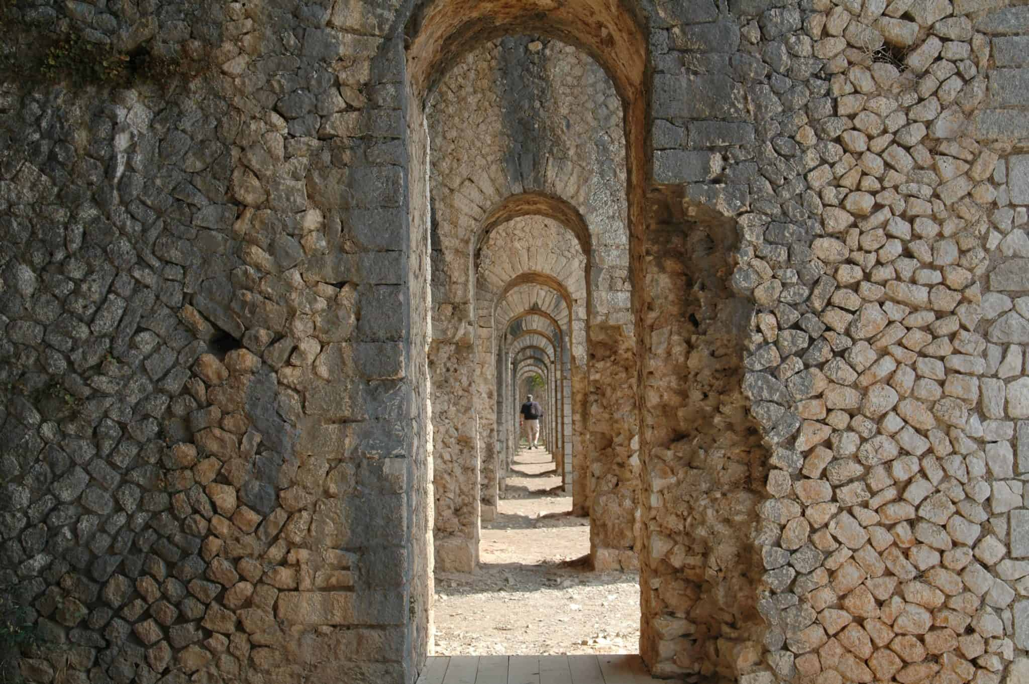 Terracina: Tempio di Giove Anxur
