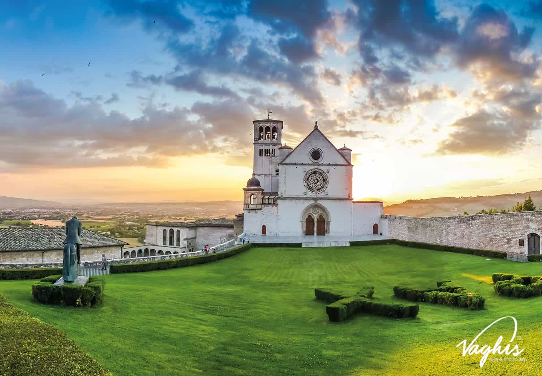 Basilica di Assisi - © Vaghis - Viaggi & turismo Italia - Tutti i diritti riservati
