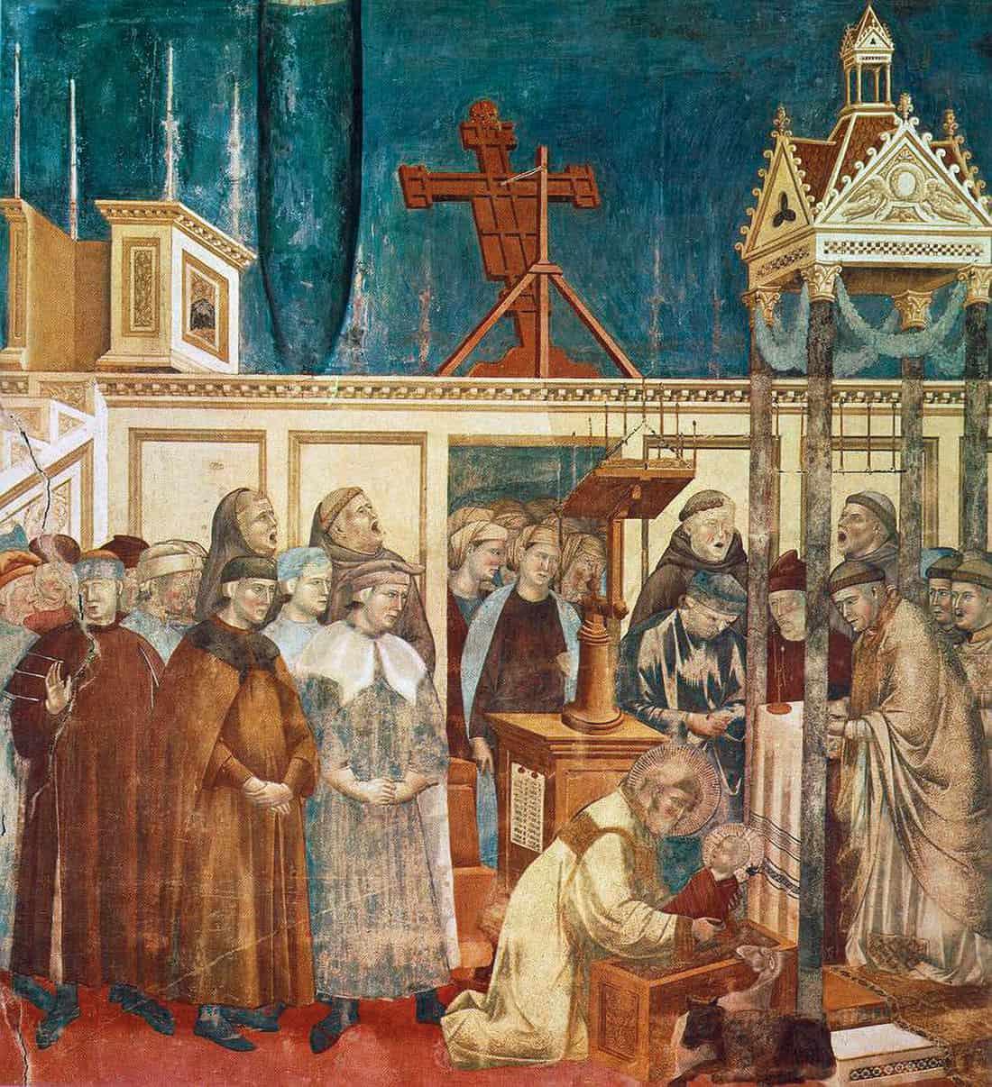 Giotto: Presepe di Greccio