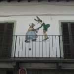 Uno degli oltre 150 murales dedicati a Pinicchio