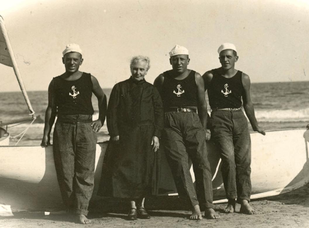 Abbigliamento marinai genovesi