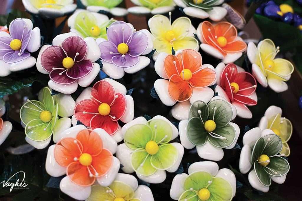 I Confetti a forma di bouquet - © Vaghis viaggi & turismo Italia - Tutti i diritti riservati