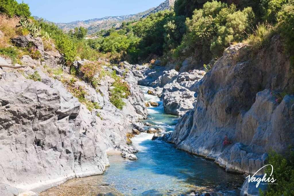 Gole dell'Alcantara - © Vaghis viaggi & turismo Italia - Tutti i diritti riservati