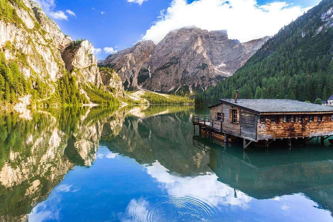 Lago di Braies - © Vaghis - viaggi & turismo Italia Tutti i diritti riservati