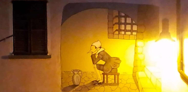 Vernante: I murales dedicati a Pinocchio