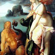 Glauco e Scilla (1582) di Bartholomaeus Spranger