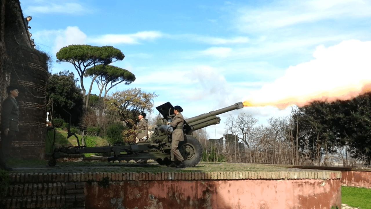 Gianicolo: Il botto del cannone