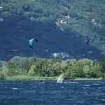 Kitesurf sul lago di Como