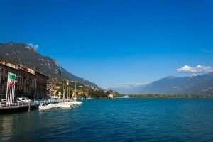 Scorcio di Lovere e del lago d'Iseo