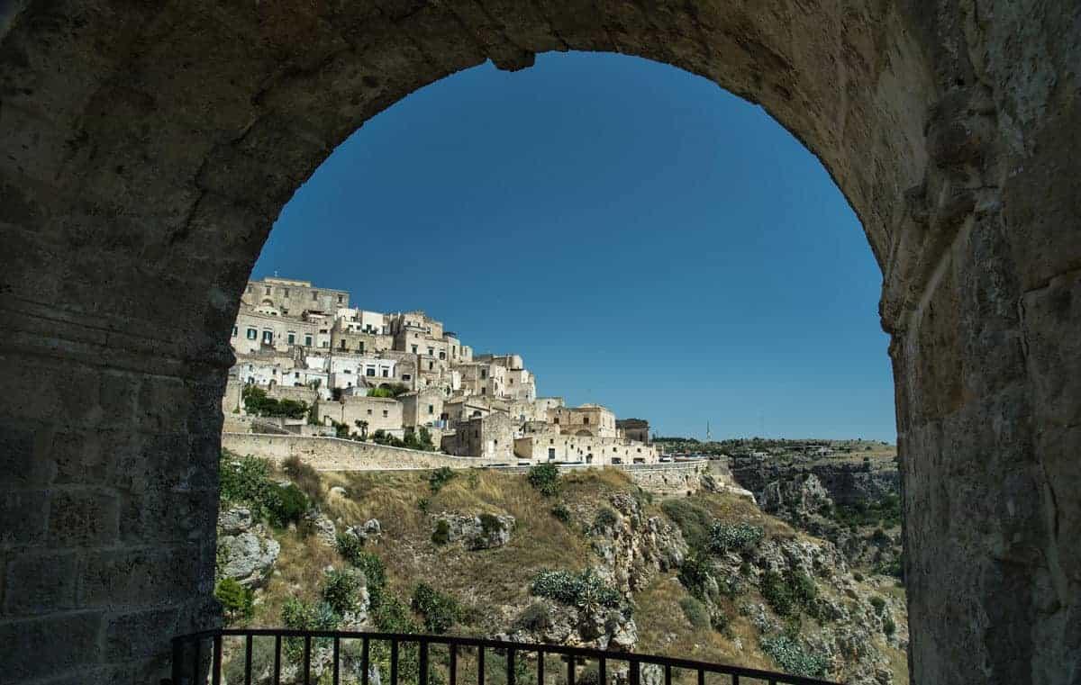 Matera - Il quartiere - Sasso Caveoso
