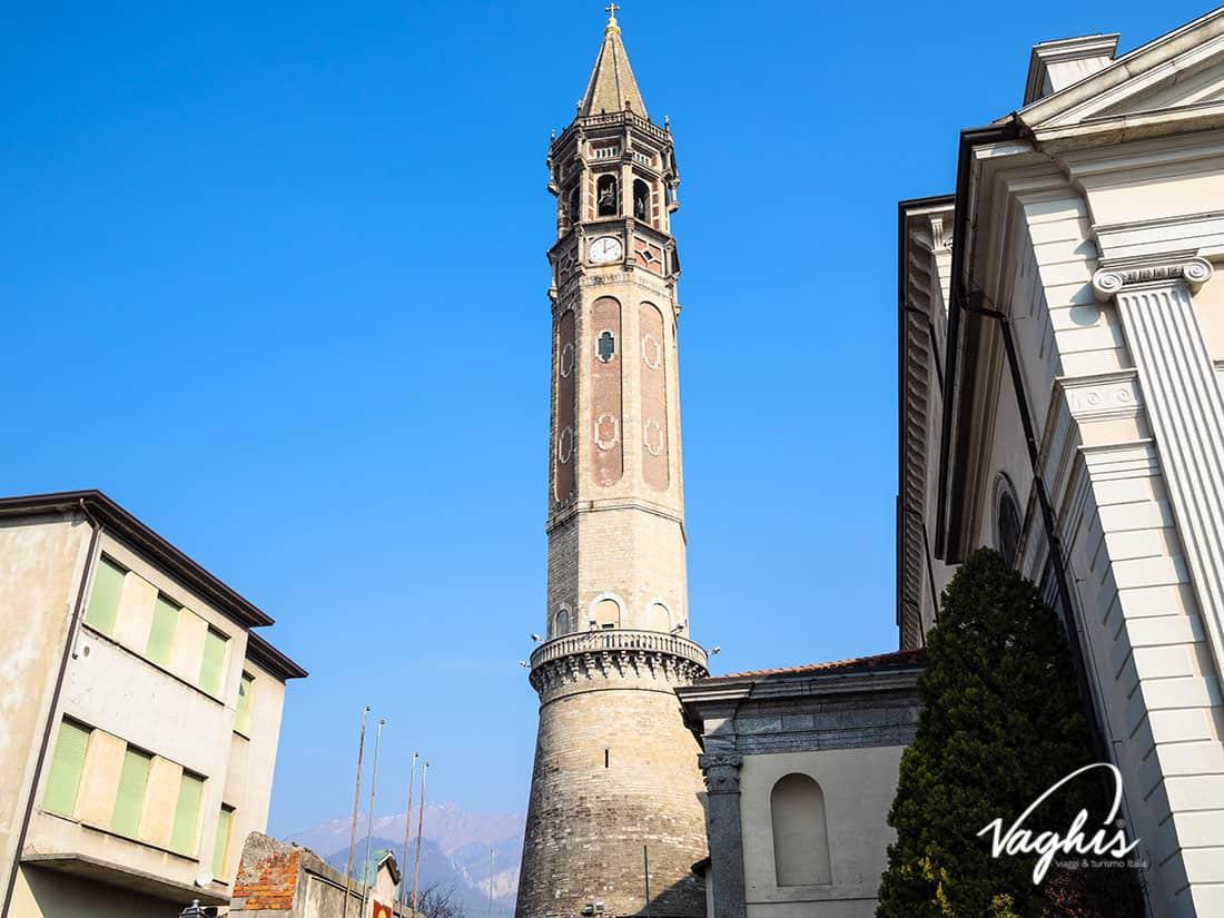 Lecco: Il campanile della Basilica di San Nicolò - © Vaghis - viaggi & turismo Italia - Tutti i diritti riservati