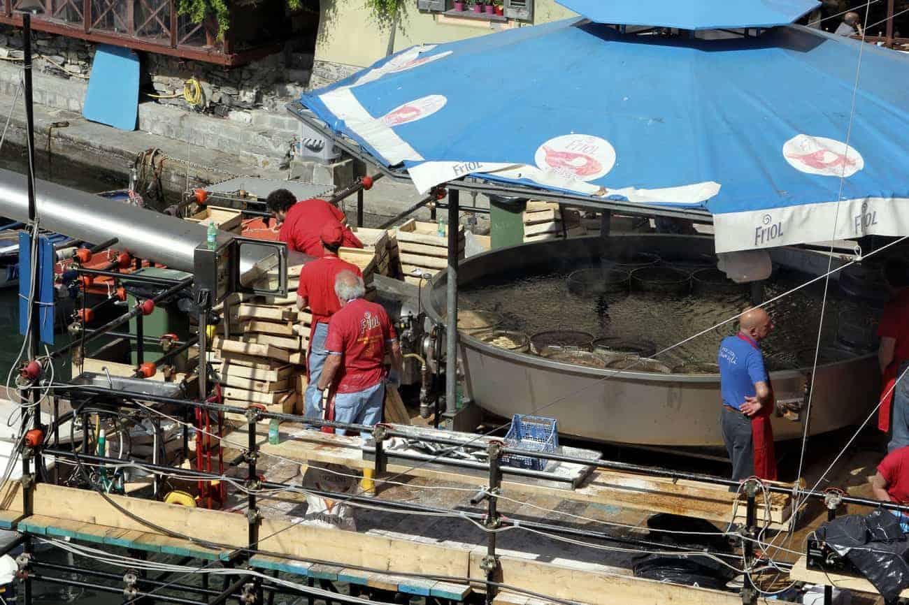 La sagra del pesce fritto di Camogli