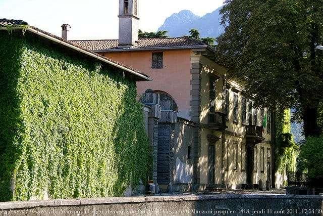 Lecco: Villa Manzoni