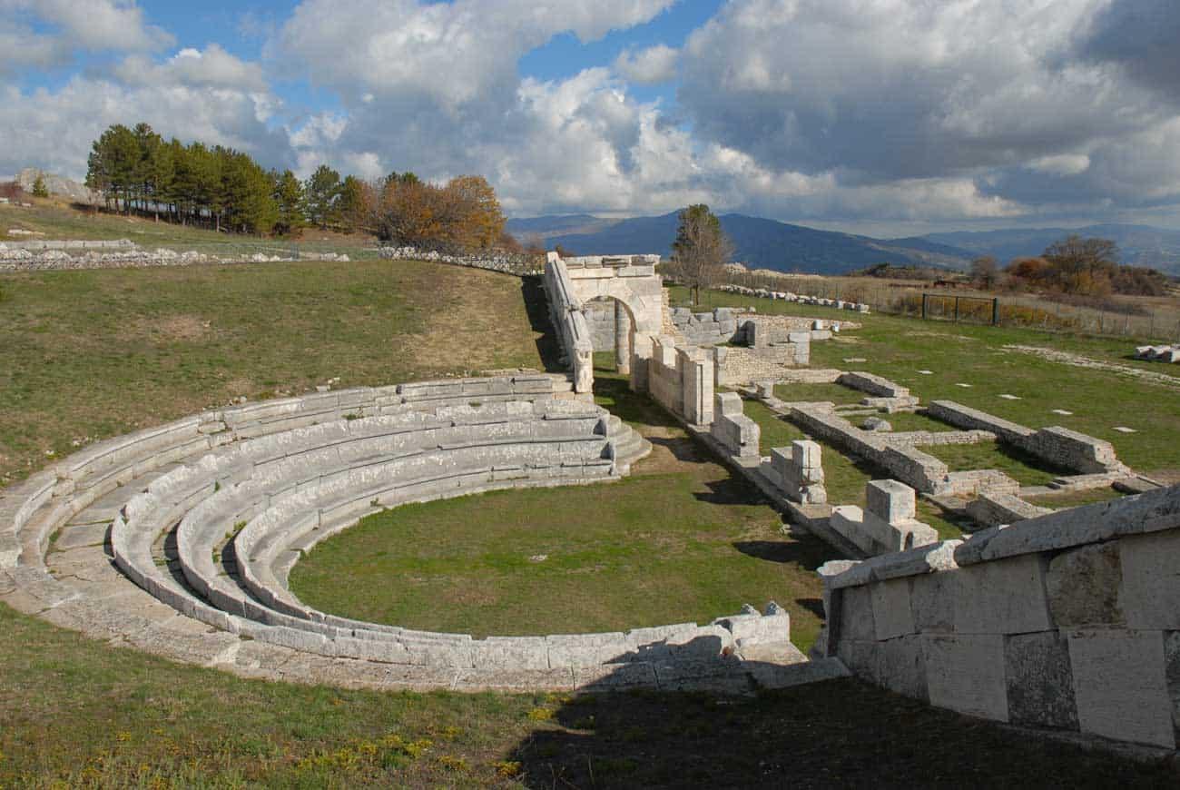 L'area Archeologica di Sepino