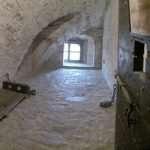 La cella nella Cittadella di Alessandria dove fu rinchiuso Andrea Vochieri. 2