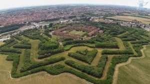 La Cittadella di Alessandria, vista dall'alto