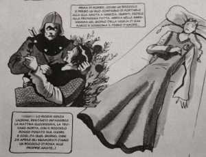 Illustrazione della tradizione veneziana del Bocolo