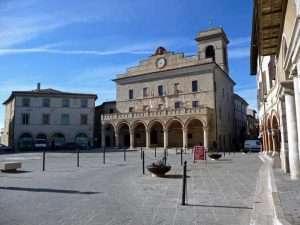 MONTEFALCO - Palazzo Comunale