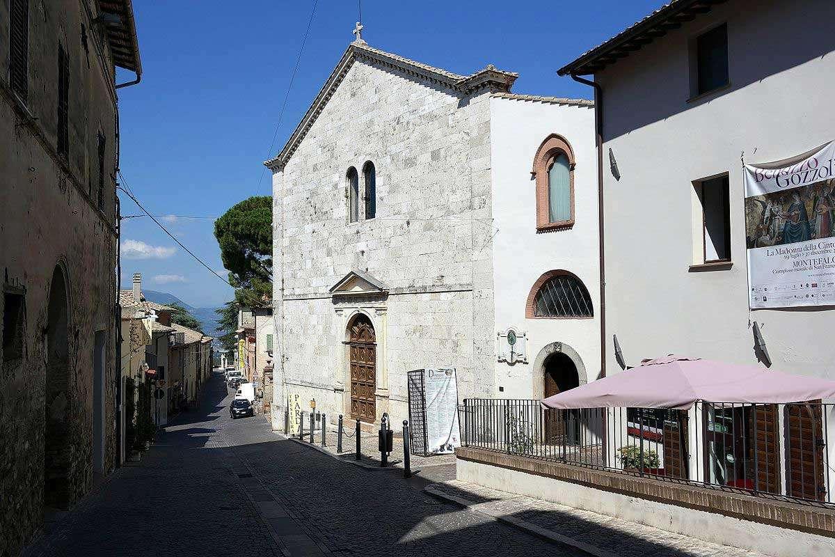 Montefalco - Chiesa di San Francesco