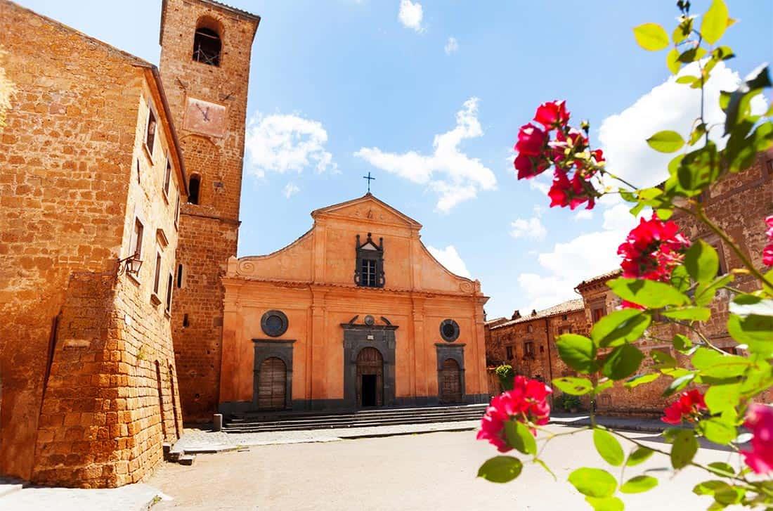 Civita di Bagnoregio - chiesa di San Donato