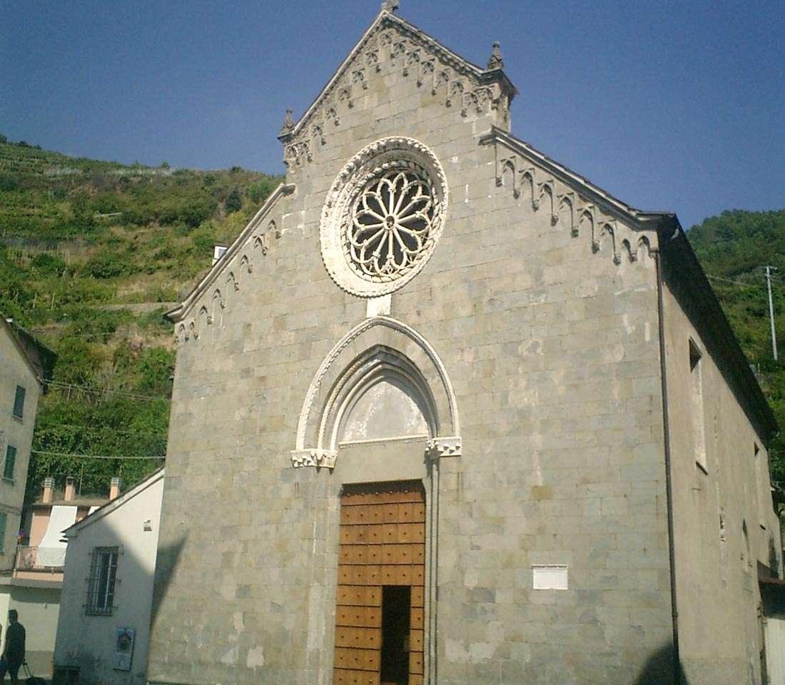Manarola: chiesa di San Lorenzo