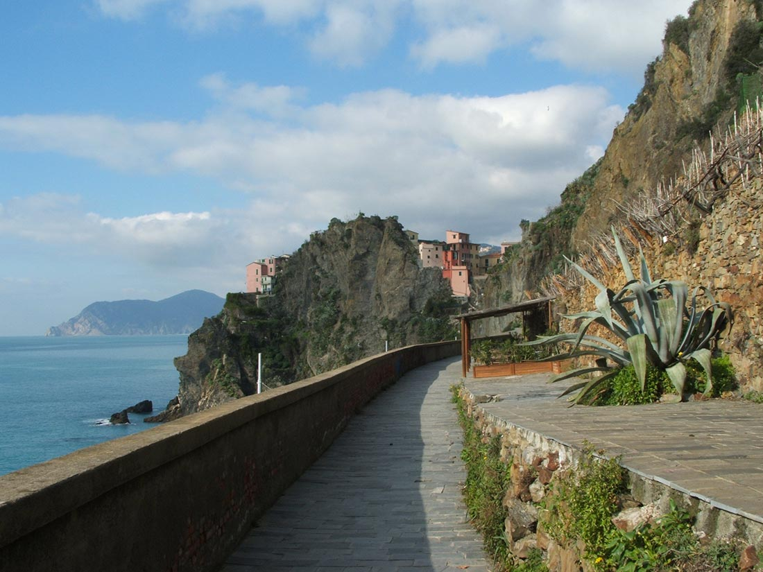 Manarola: via dell'Amore