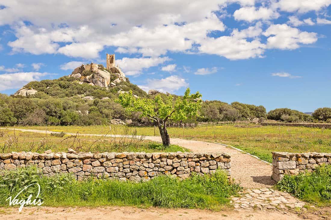 Olbia: Castello di Pedres - © Vaghis - viaggi & turismo Italia - Tutti-i-diritti riservati