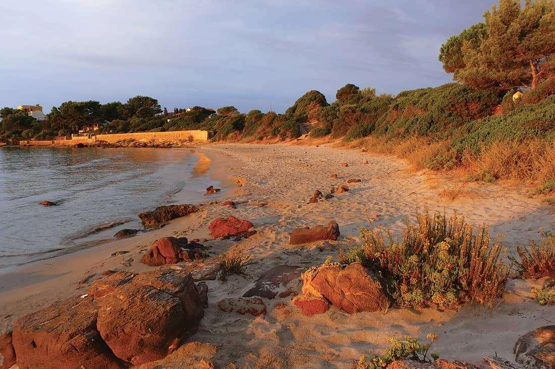Carloforte: Spiaggia Girin