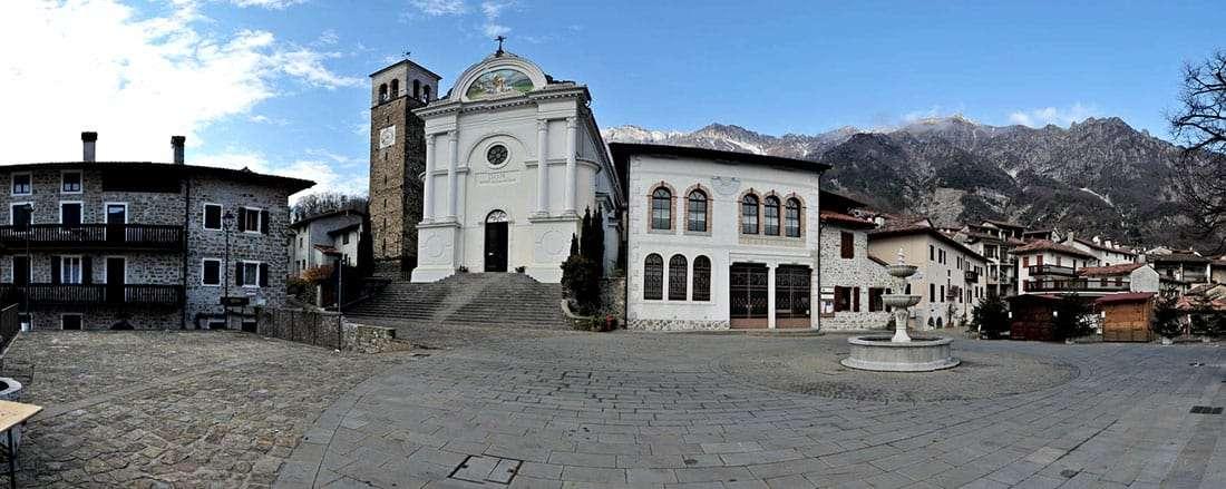 Poffabro, la chiesa parrocchiale di San Nicolò