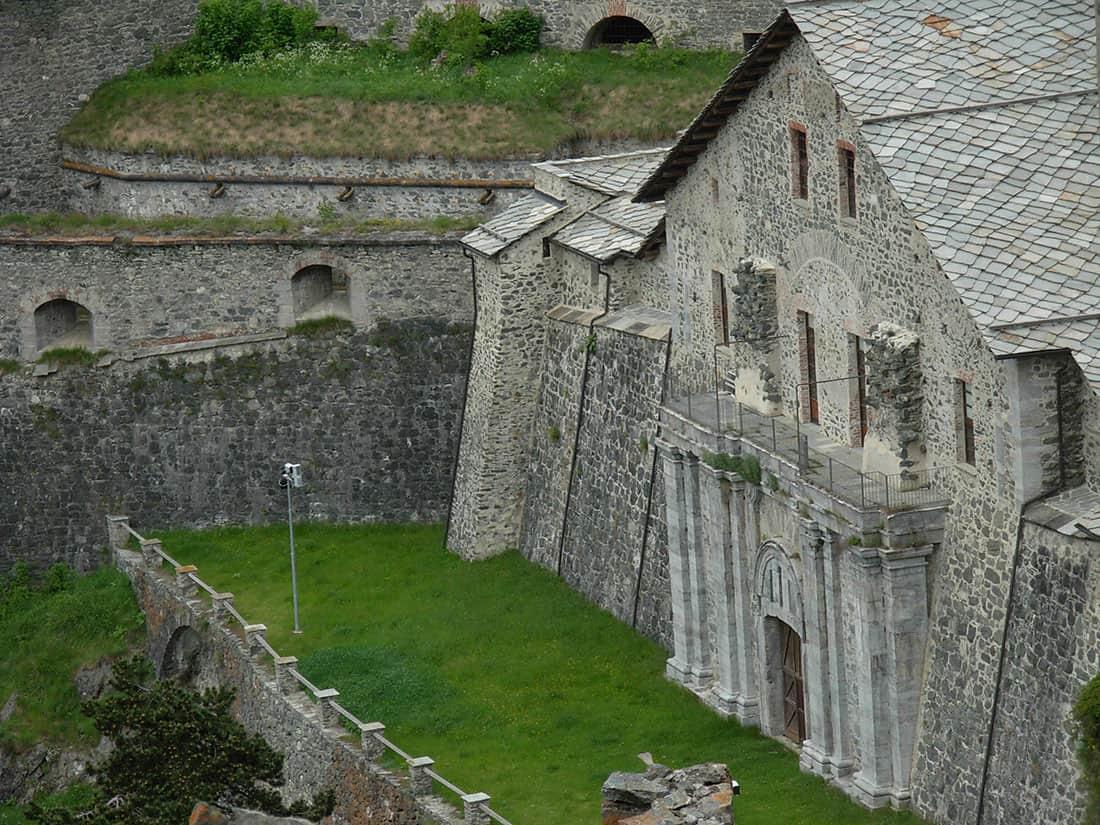 Forte di Fenestrelle - Porta Reale