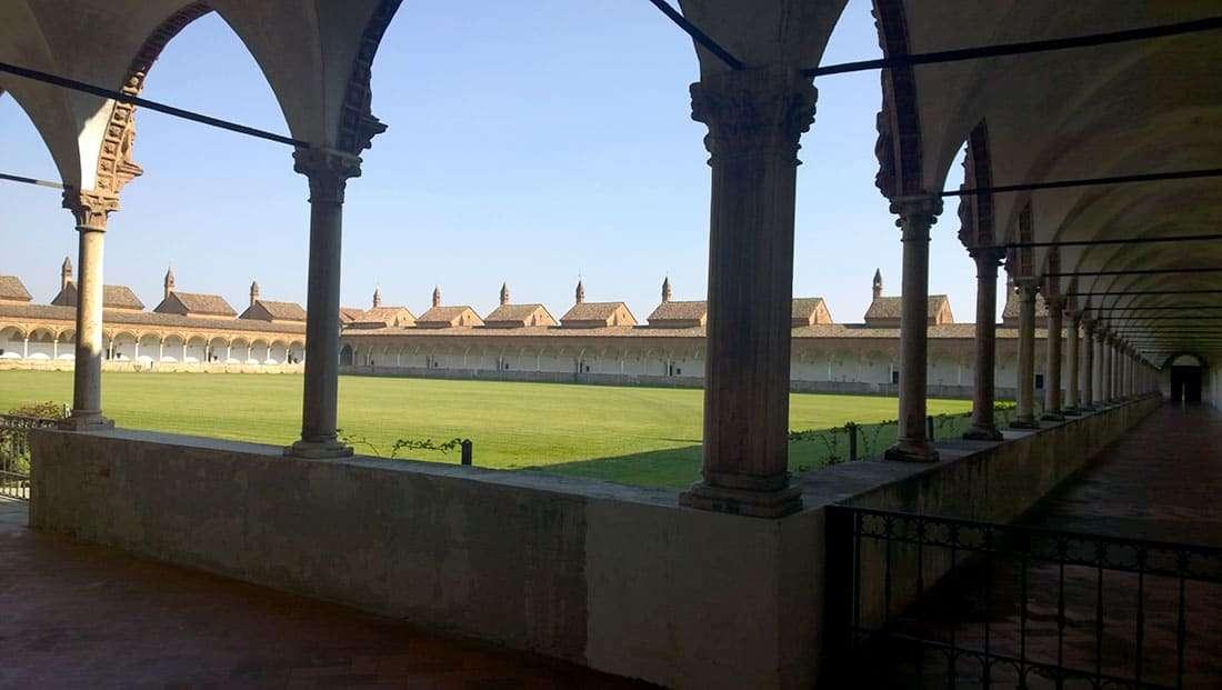 La Certosa di Pavia - Il chiostro grande
