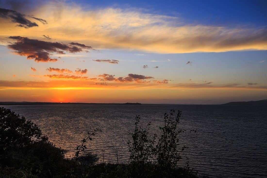 Castiglione del Lago - Vista sul Trasimeno al tramonto - © Vaghis - viaggi & turismo Italia Tutti i diritti riservati