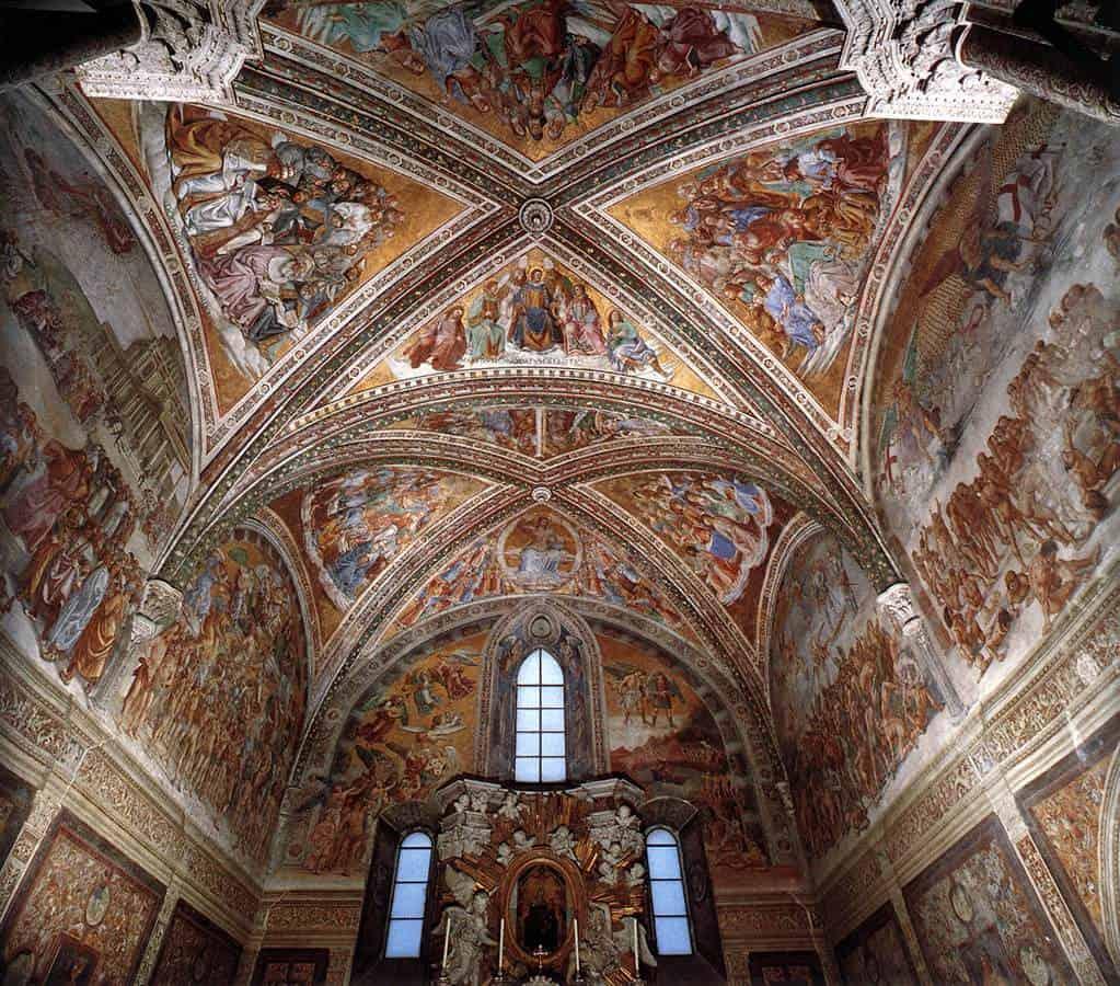 Il duomo di Orvieto - Cappella di San Brizio