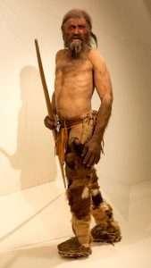 Ricostruzione naturalistica di Ötzi - Museo Archeologico dell'Alto Adige