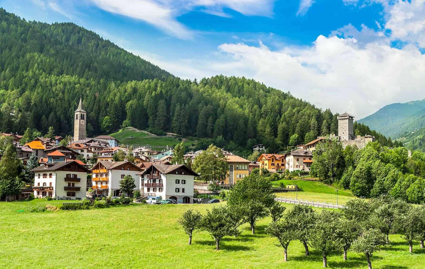Ossana, il borgo dei 1000 presepi - © Vaghis - viaggi & turismo Italia Tutti i diritti riservati