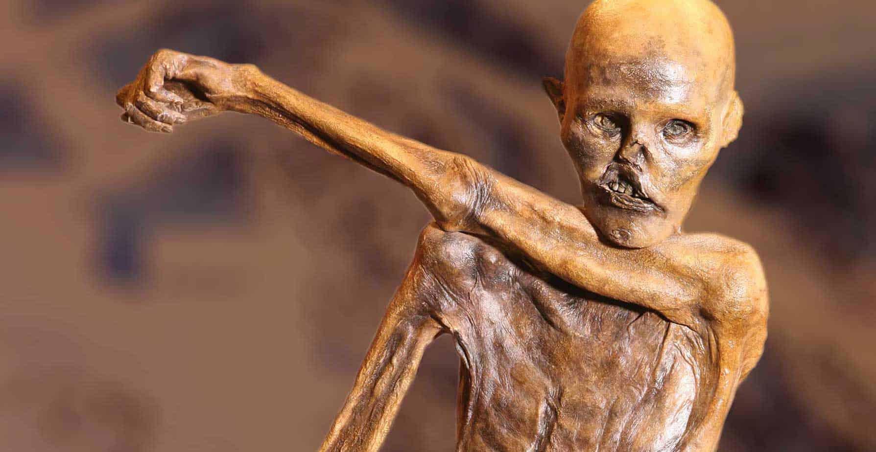 """Ötzi, l'uomo venuto dal ghiaccio"""""""