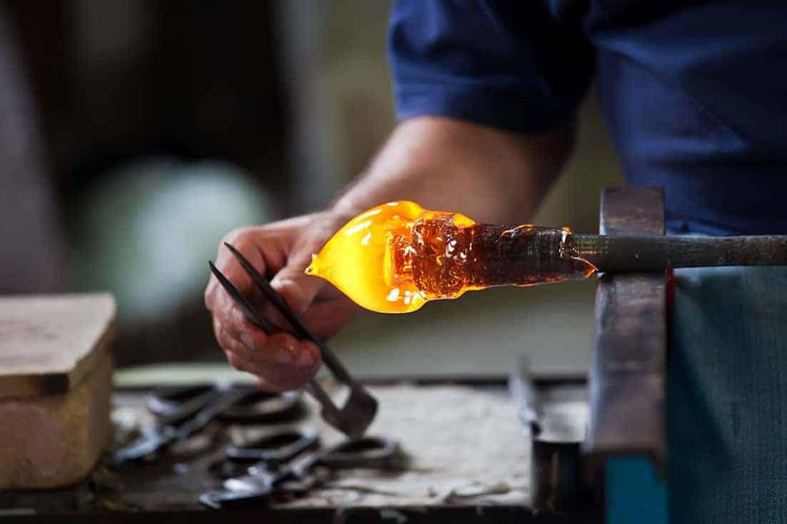 Murano - Lavorazione del vetro - © Vaghis - viaggi & turismo Italia - Tutti-i-diritti riservati