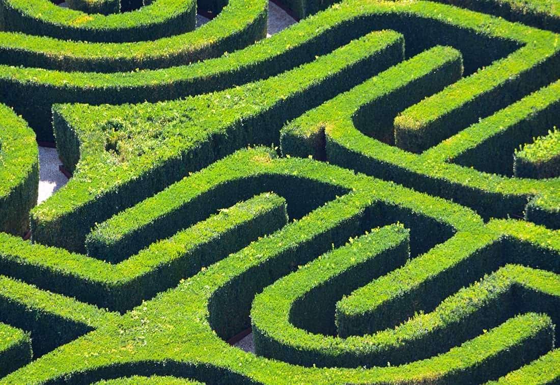 Il labirinto - © Vaghis - viaggi & turismo Italia - Tutti-i-diritti riservati