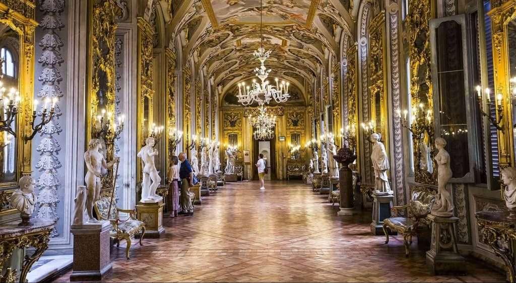 Galleria Doria Pamphilj - © Vaghis - viaggi & turismo Italia - Tutti-i-diritti riservati