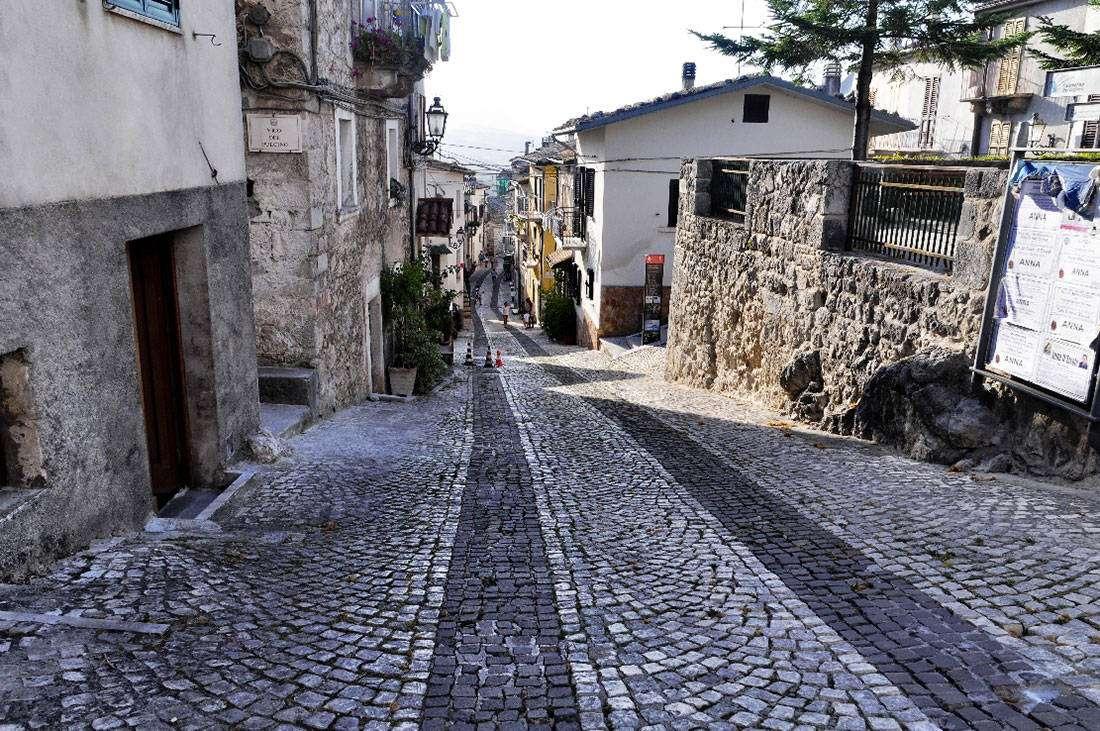Caramanico Terme: Il centro storico