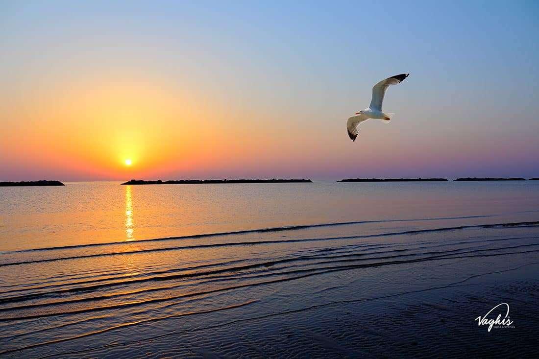 Cesenatico: La spiaggia - Vaghis viaggi & turismo Italia - Tutti i diritti riservati
