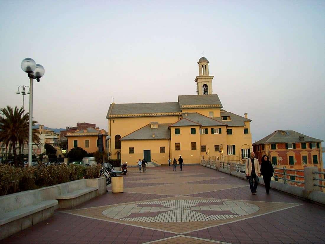 Boccadasse: Chjiesa di Sant'Antonio da Padova
