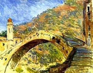 Dolceacqua: Il ponte Vecchio immortalato da Claude Monet