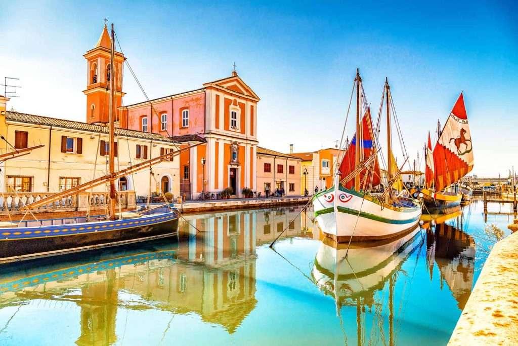 Il Porto Canale Leonardesco di Cesenatico - © Vaghis - viaggi & turismo Italia - Tutti i diritti riservati