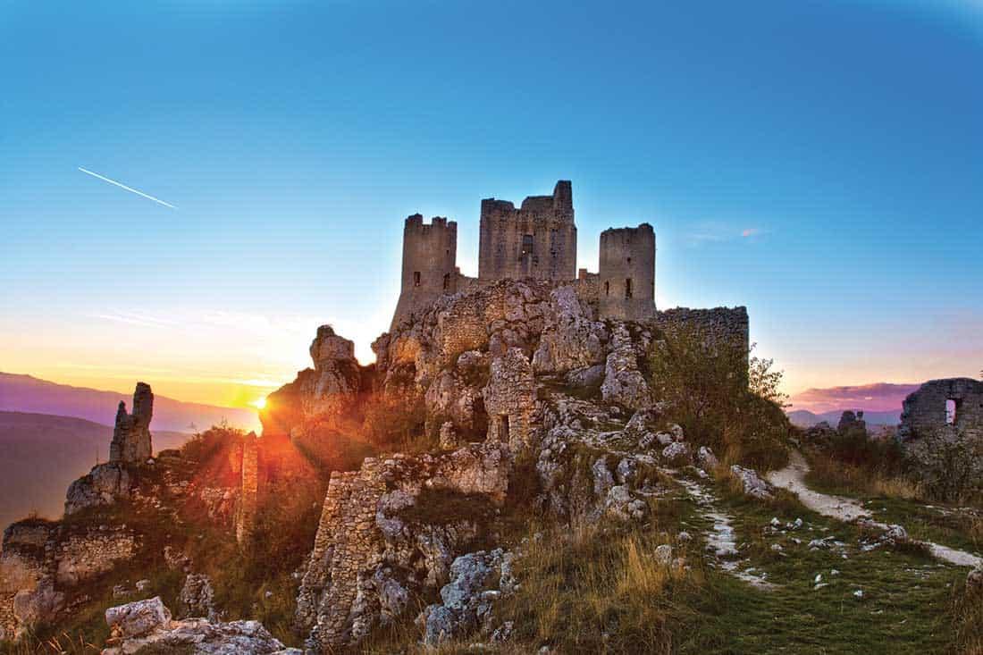 Rocca Calascio: – Vaghis viaggi & turismo Italia - Tutti i diritti riservati