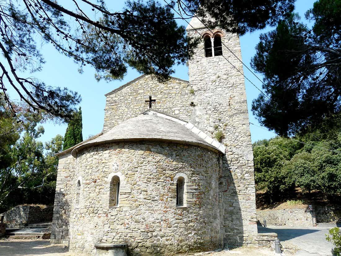 Sestri Levante: chiesa di San Nicolò dell'Isola