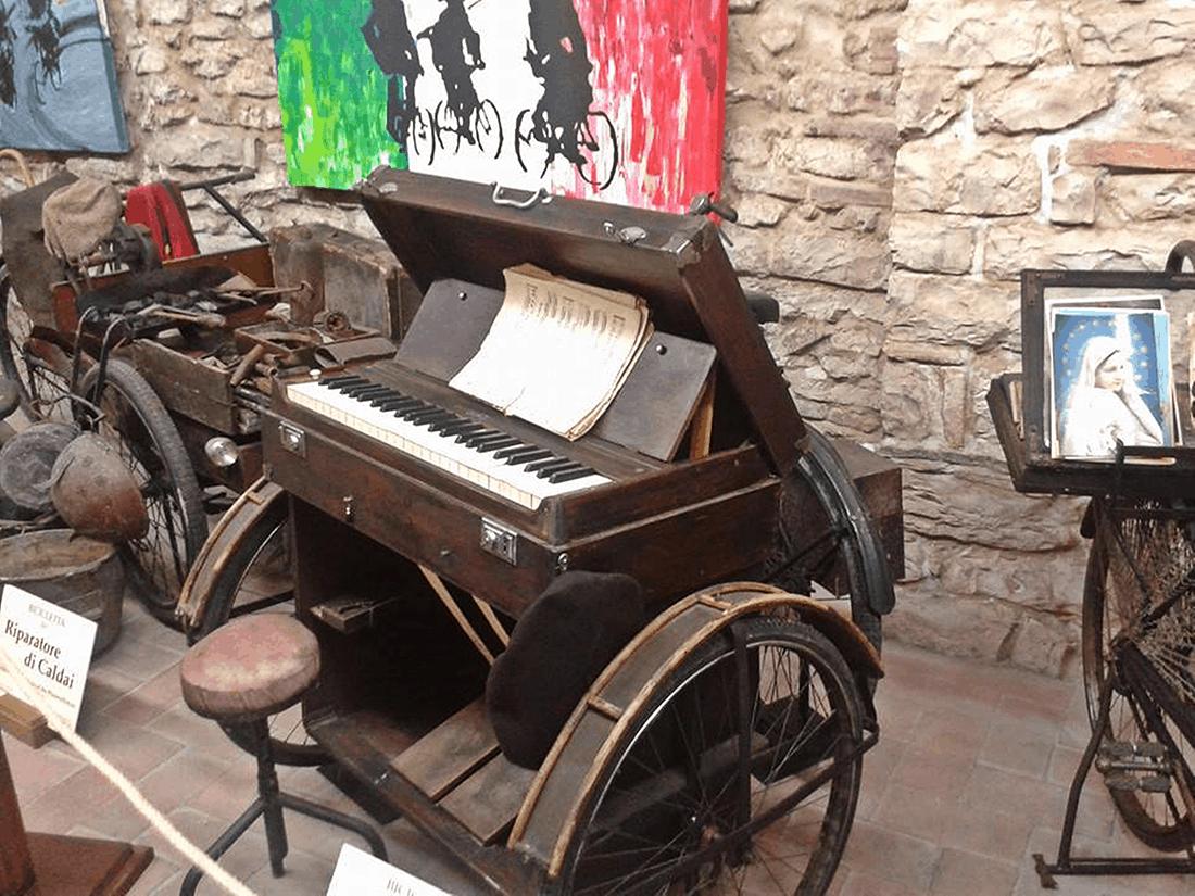 Museo degli antichi mestieri in bicicletta