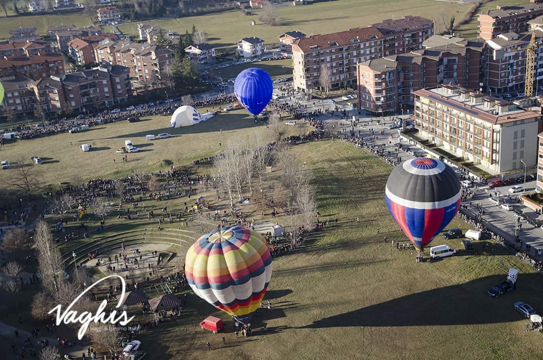 Mondovì: il volo delle mongolfiere - © Vaghis viaggi & turismo Italia - Tutti i diritti riservati