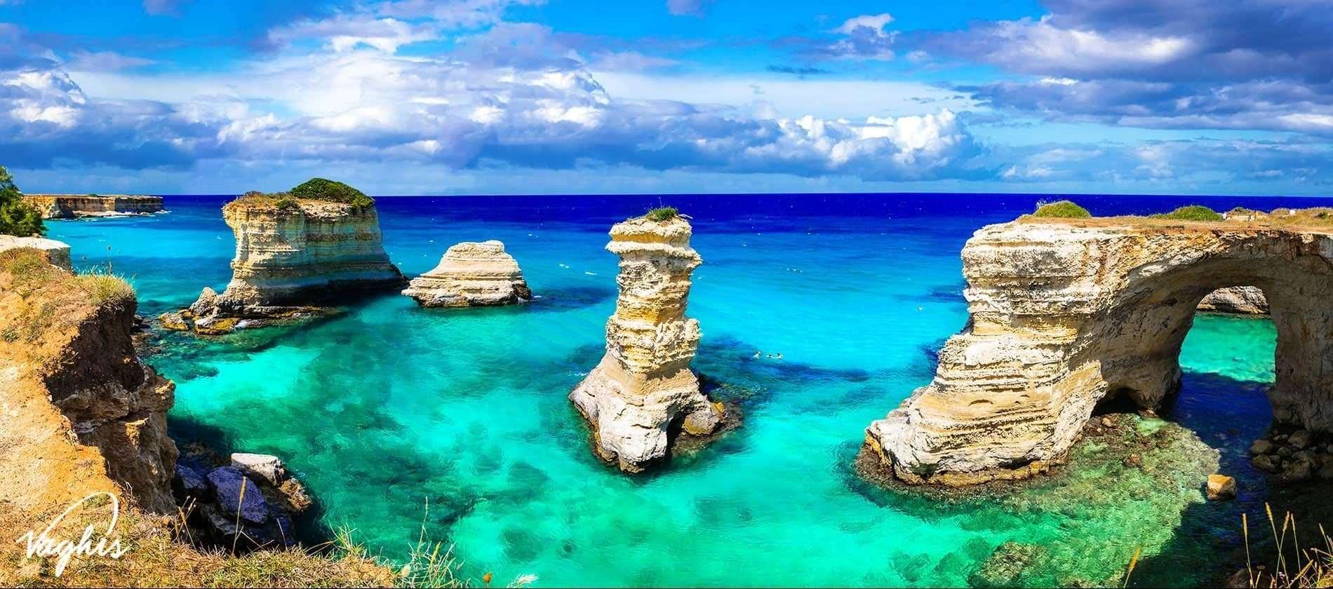 Salento: Torre di sant'Andrea - © Vaghis viaggi & turismo Italia - Tutti i diritti riservati