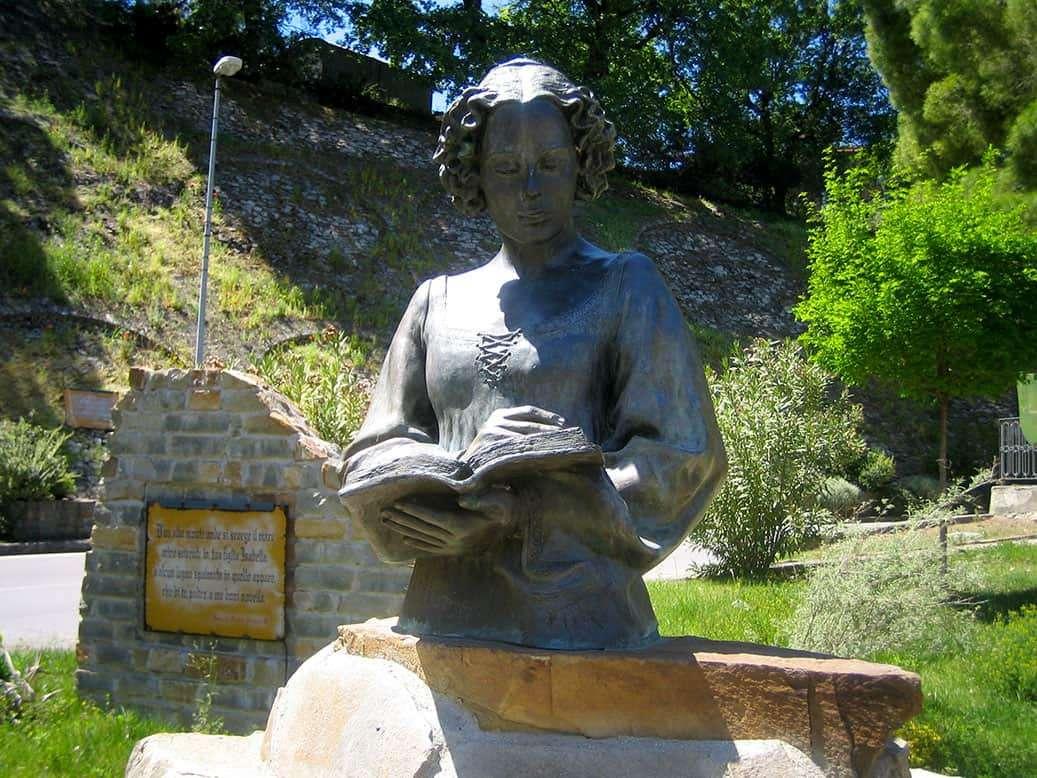 Valsinni: Busto di Isabella Morra